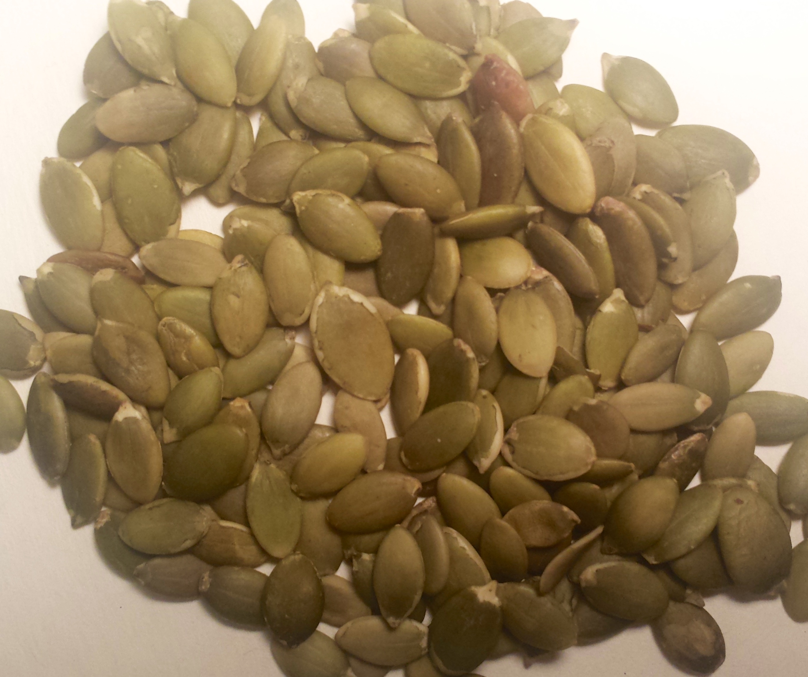 Pumpkin seeds are alkaline forming to help balance highly acidic diets.